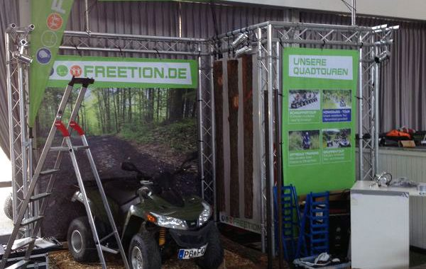 Quad Fahren Holiday Messe